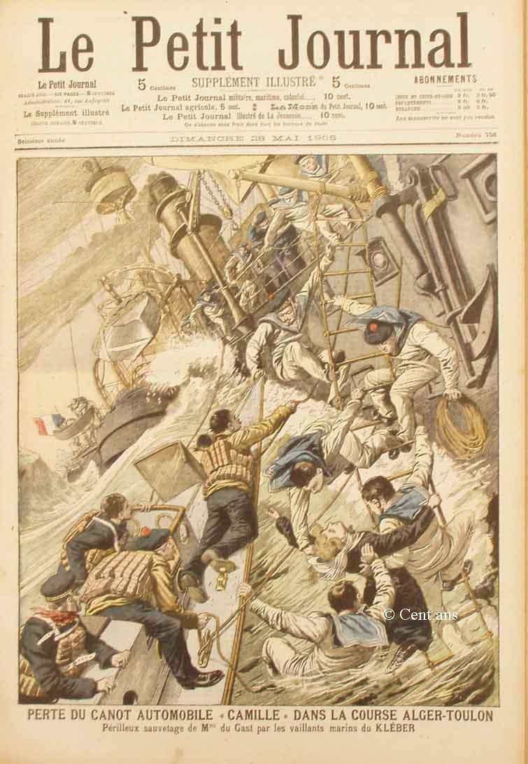 SUPPLÉMENT ILLUSTRE de 1905